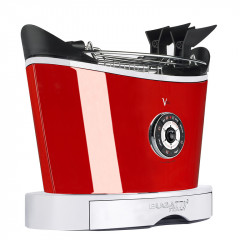 Тостер Volo, красный, Casa Bugatti